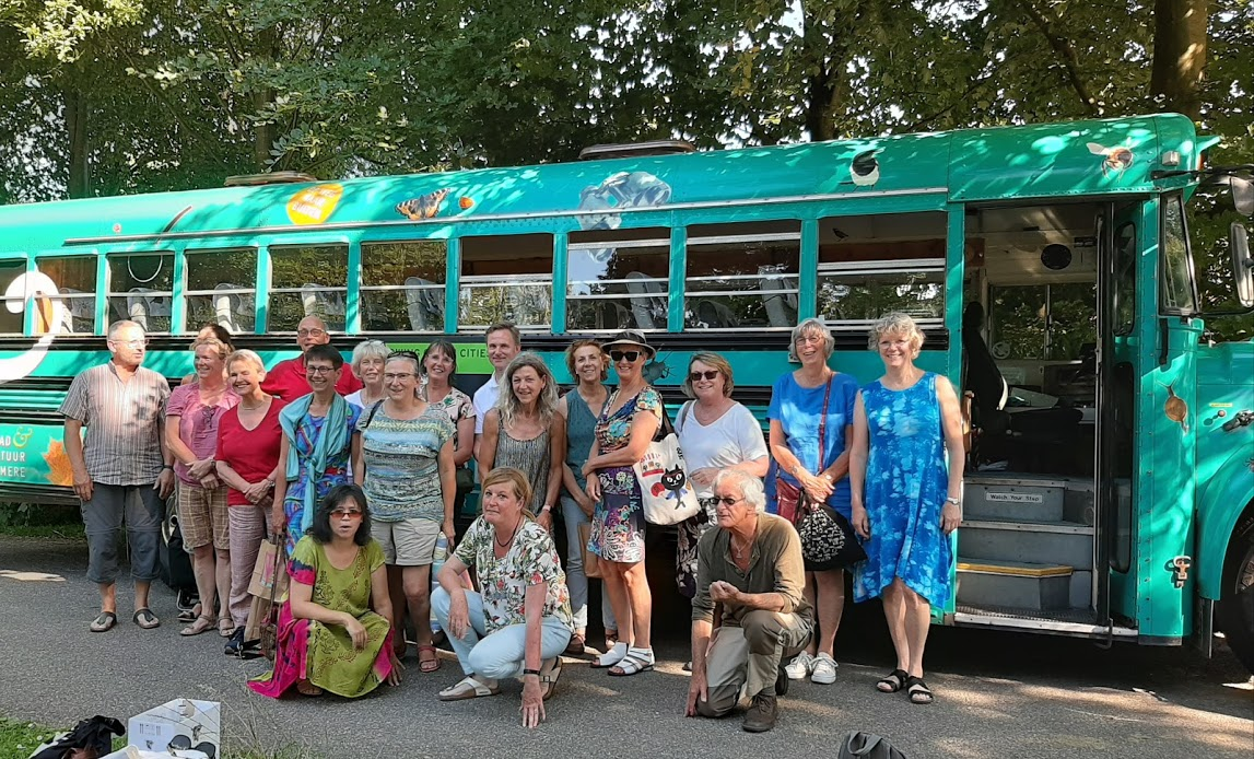 Uitstapje Textielmuseum met de bus